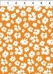 Doodle Blossoms Orange Wildflowers